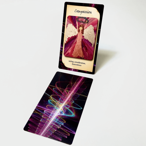 Blessed by Angels Oracle Cards: Compassion