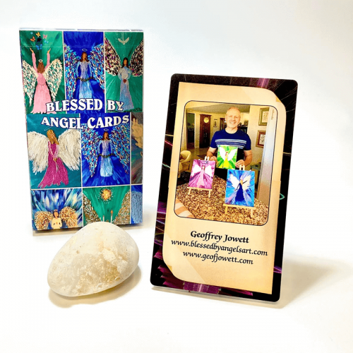 Blessed by Angels Oracle Cards Feature
