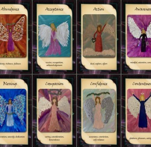 Angel Tarot Cards group 1